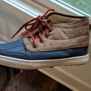 Duck Boots w/ Red Laces